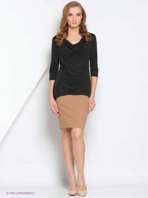 Блузка Samirini. Цвет: черный