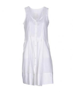 Короткое платье MARITHÉ + FRANÇOIS GIRBAUD. Цвет: белый