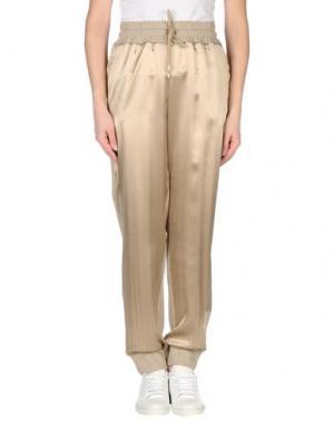 Повседневные брюки BLU BIANCO. Цвет: бежевый