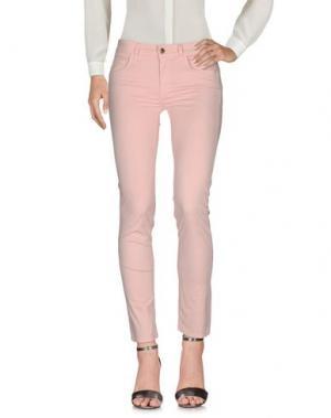 Повседневные брюки REBEL QUEEN. Цвет: абрикосовый