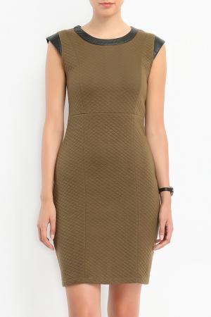 Платье Top Secret. Цвет: зеленый