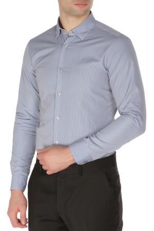 Рубашка Z Zegna. Цвет: голубой