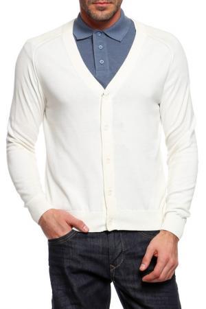 Кардиган Armani Jeans. Цвет: белый