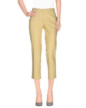 Повседневные брюки ALTEA dal 1973. Цвет: желтый