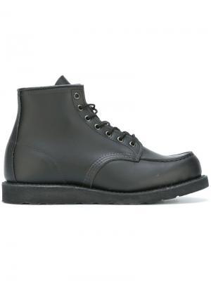 Ботинки на шнуровке Red Wing Shoes. Цвет: чёрный