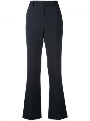 Расклешенные брюки Brunello Cucinelli. Цвет: чёрный