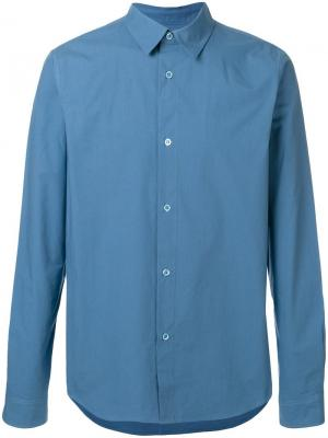 Классическая рубашка A.P.C.. Цвет: синий