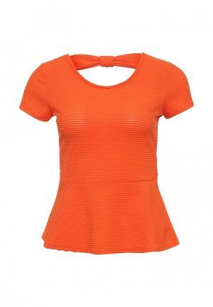 Блуза Camomilla Italia. Цвет: оранжевый