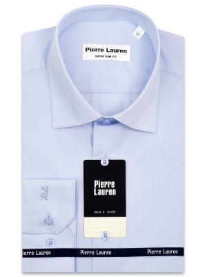 Рубашка Pierre Lauren. Цвет: голубой