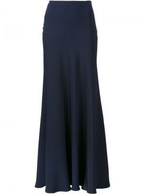 Длинная юбка Peter Cohen. Цвет: синий