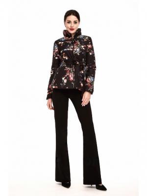 Куртка синтепоновая PAOLA MORENA. Цвет: черный, красный, розовый