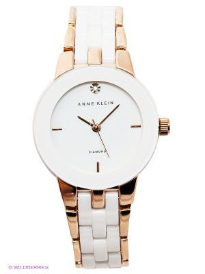 Часы ANNE KLEIN. Цвет: золотистый, белый