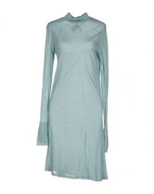Короткое платье DEVOTION. Цвет: небесно-голубой