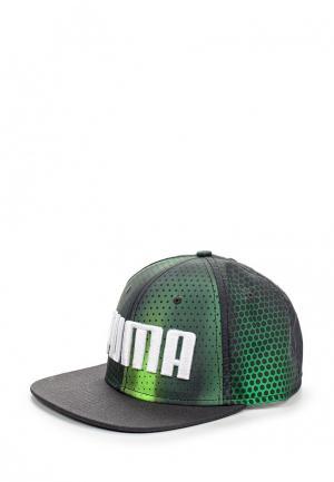 Бейсболка Puma. Цвет: зеленый