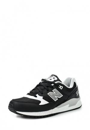 Кроссовки New Balance. Цвет: черно-белый