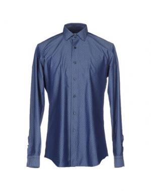 Pубашка FABIO MODIGLIANI. Цвет: синий