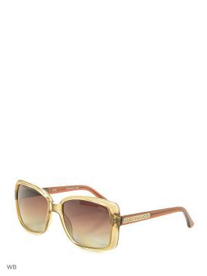 Солнцезащитные очки GU 2021P A51 BE-34 GUESS. Цвет: коричневый, прозрачный