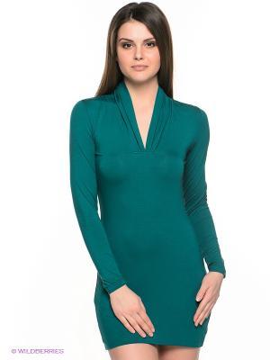 Платье Sport Vision. Цвет: зеленый