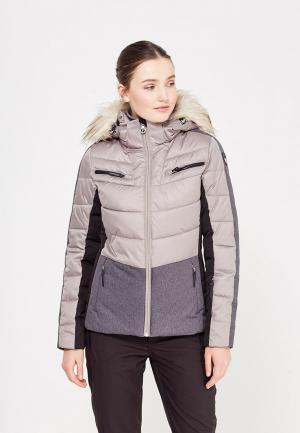 Куртка горнолыжная Icepeak. Цвет: бежевый