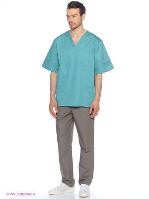Брюки медицинские Med Fashion Lab. Цвет: серый