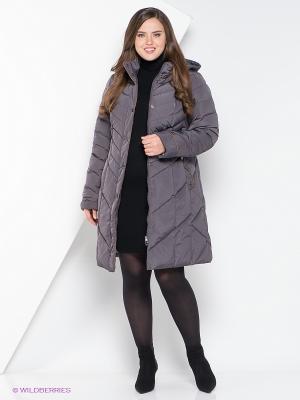 Пальто Vlasta. Цвет: темно-серый