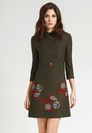 Платье Devita. Цвет: разноцветный