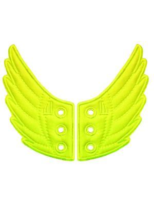 Декоративные крылья для кроссовок Wings for Shoes Donkey. Цвет: желтый