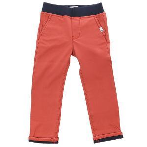 Штаны прямые детские  Krandyconawboy Barn Red Quiksilver. Цвет: коричневый