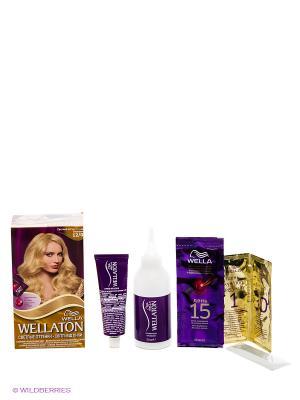 Крем-краска для волос 12/0 Светлый натуральный блондин WELLATON. Цвет: бежевый