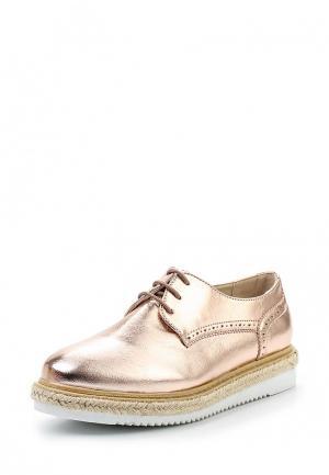 Ботинки Tony-p. Цвет: розовый