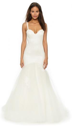 Вечернее платье Charleston Katie May. Цвет: золотой