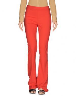 Повседневные брюки MALAICA. Цвет: коралловый