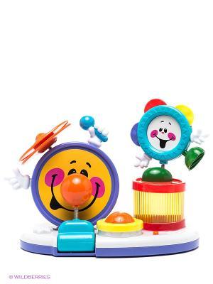 Игрушка Барабанная установка Shantou Gepai. Цвет: фиолетовый, оранжевый, белый