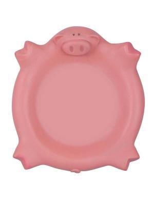Все для Ванной - Подставка мыла Хрюша Склад Уникальных Товаров. Цвет: розовый