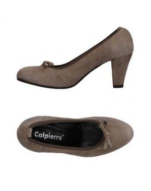 Туфли CALPIERRE. Цвет: серый