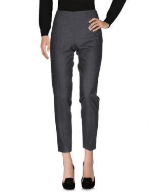 Повседневные брюки QL2 QUELLEDUE. Цвет: свинцово-серый