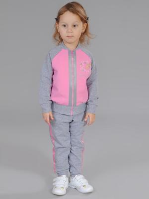 Комплект одежды Fleur de Vie. Цвет: серый