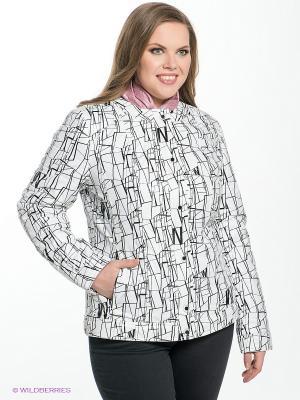 Куртка Sinta Via. Цвет: белый, черный