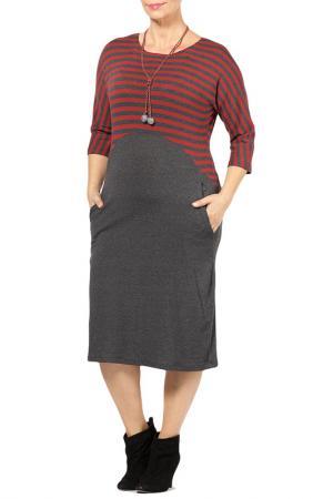 DRESS Zedd Plus. Цвет: dark grey, red