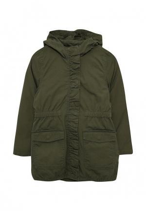 Куртка утепленная Esprit. Цвет: хаки