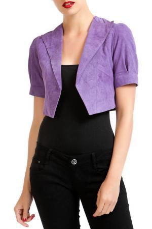 Болеро Isaco & Kawa. Цвет: фиолетовый