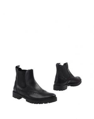 Полусапоги и высокие ботинки BAGE. Цвет: черный