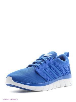 Кроссовки CLOUDFOAM GROOVE Adidas. Цвет: лазурный, белый