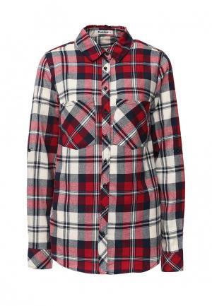 Рубашка Pinkline. Цвет: красный