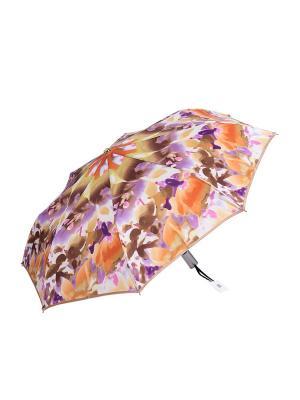 Зонт Stilla s.r.l.. Цвет: рыжий,фиолетовый