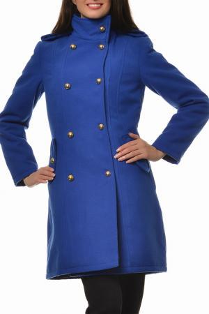 Пальто Alexandra Ritz. Цвет: синий