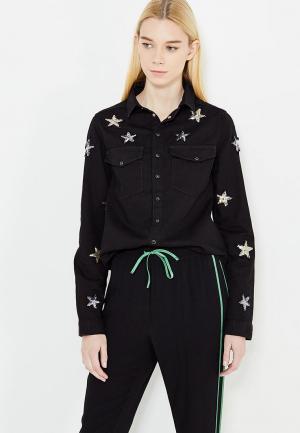 Рубашка джинсовая Zoe Karssen. Цвет: черный