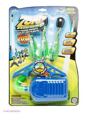 Ракетная установка ZompRocketz ZING. Цвет: синий, зеленый