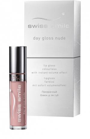 Блеск для губ Day Gloss Nude Swiss Smile. Цвет: бесцветный