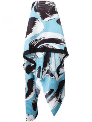 Платье Hestor Solace. Цвет: синий